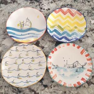 Nautical plates (set of 4)
